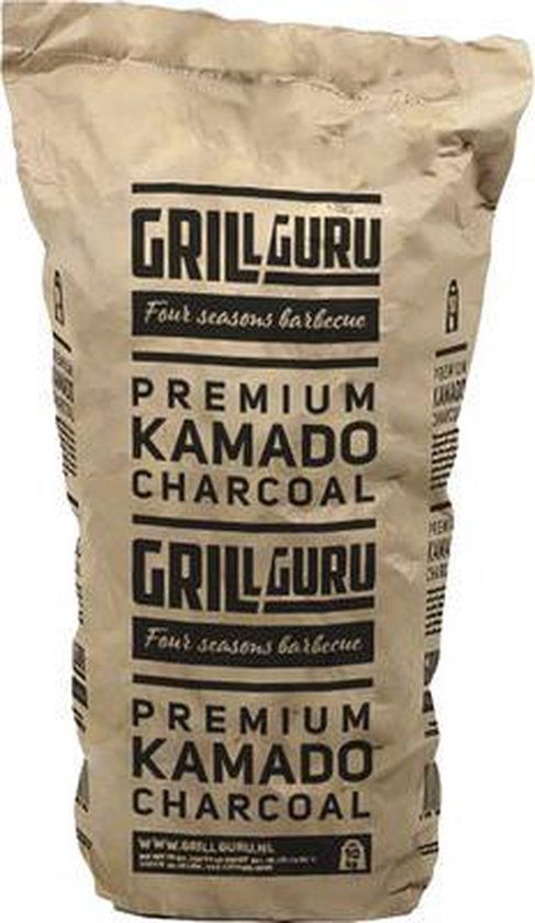 1. Grill Guru Kamado 10kg - 4 soorten houtskool die jij kunt gebruiken op jouw Kamado barbecue