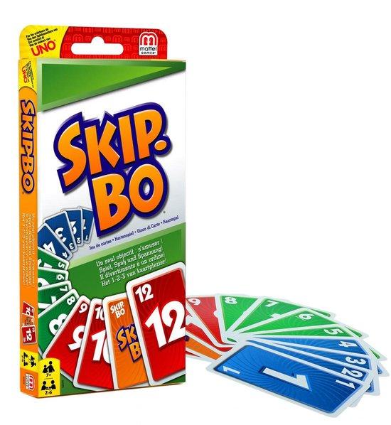 2. Skip-Bo Kaartspel - De 10 leukste familie spelletjes voor volwassenen