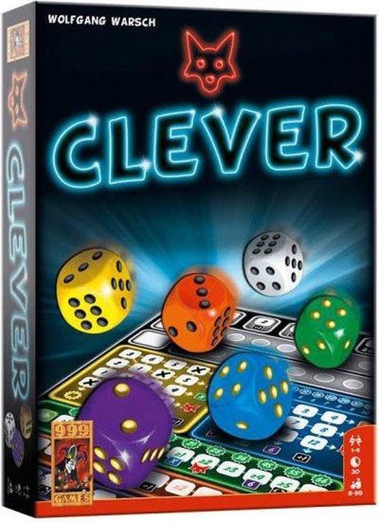 4. Clever- Dobbelspel - De 10 leukste familie spelletjes voor volwassenen