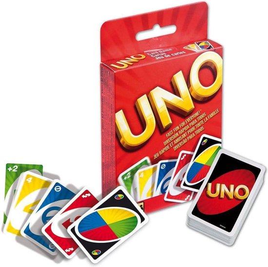 7. UNO- Kaartspel - De 10 leukste familie spelletjes voor volwassenen