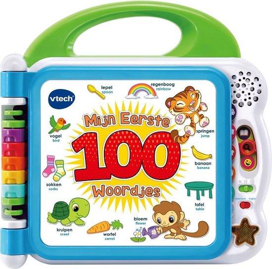 Top 5 populairste cadeaus voor kinderen tussen de 0-2 jaar: VTech baby mijn eerste 100 woordjes - interactief boek