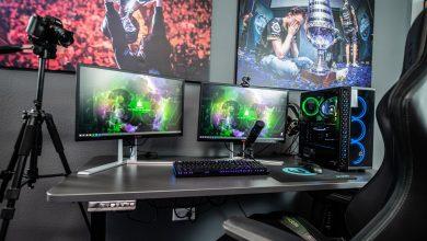 professionele streamers set-up