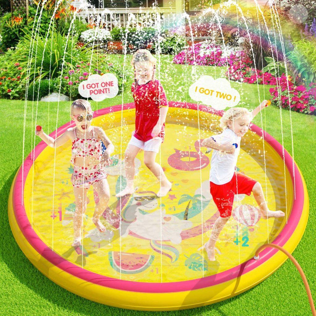 Sprinkler pad watermat